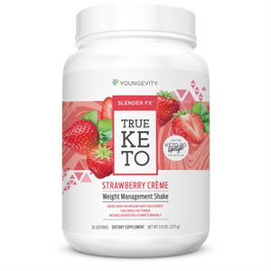 Picture of Slender FX™ True Keto Strawberry Créme Shake